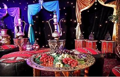 Arabian Nights Theme Party Sweet Birthday Moroccan