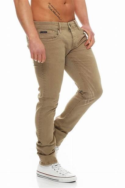 Matt Jeans Herren Seven Regular Brown Antic