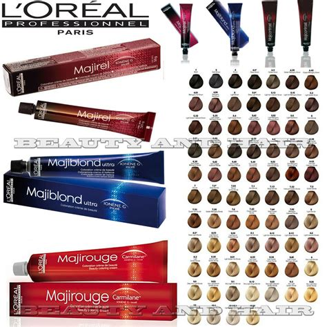 majirel hair color l oreal professional majirel majiblond majirouge