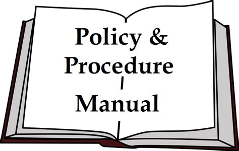 policy  procedure manual human resources