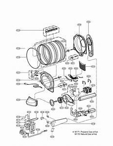 Lg Model Dlg2524w Residential Dryer Genuine Parts