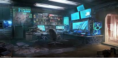 Cyberpunk Fallen Hacker Aesthetic Science Sci Fi