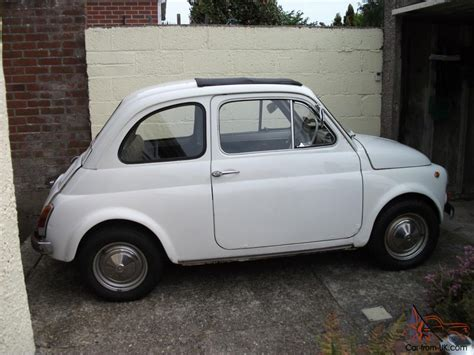 Classic Fiat 500 Right Hand Drive 1971