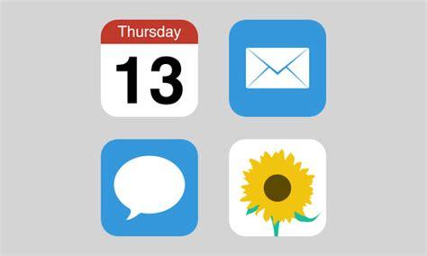 40 Beautiful Flat Icon Sets For Web Ui Design Icons