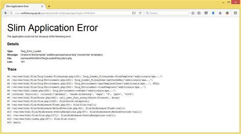 twig extends unable to find template wichtiges update sichern sie sich noch heute ab von