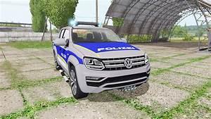 Volkswagen Amarok Double Cab Polizei Para Farming