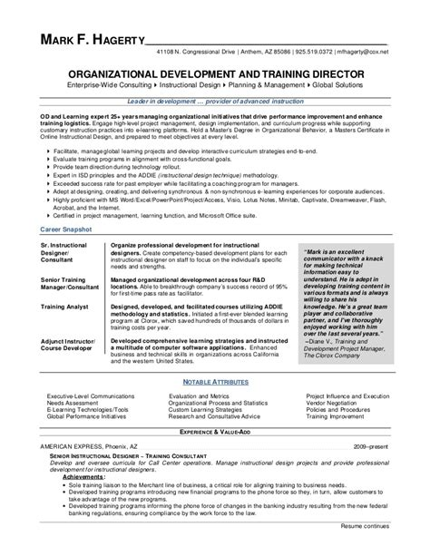 Resume T by F Hagerty Od Director Resume