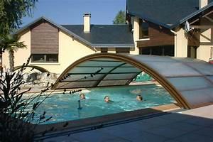 Abri Haut Piscine : ambre abri de piscine mi haut t lescopique ~ Premium-room.com Idées de Décoration
