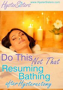 How Soon Did You Resume Bathing Following Your