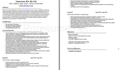 Icu Rn Resume by Icu Resume Sle Free Resumes Tips