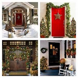 Decoration De Noel Pour Porte