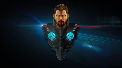 Thor Ragnarok Desktop Wallpaper Wallpaper Thor Avengers Infinity War Marvel Comics Hd Creative Graphics 12804