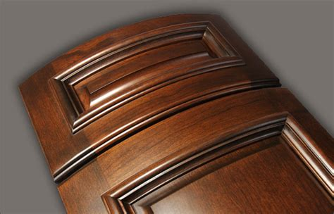 Curved Cupboard Doors - curved radius applied molding cabinet doors walzcraft