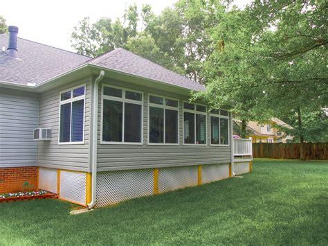 building sunroom addition image pergolas decks solid construction