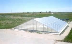 Build Underground Greenhouse