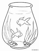 Aquarium Coloring Pages Printable Recommended Mycoloring sketch template