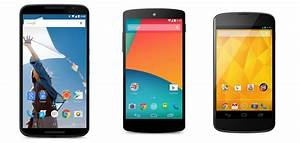 Nexus 6 Vs  Nexus 5 Vs  Nexus 4 Vs  Galaxy Nexus