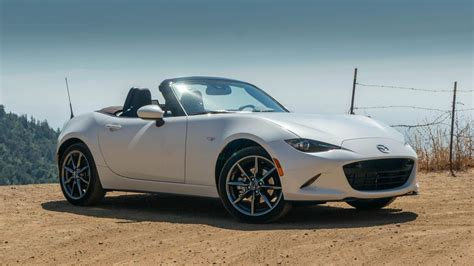 mazda mx  miata review  power  features