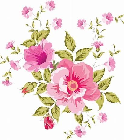Flower Flowers Clipart Transparent Pretty Watercolor Decoupage