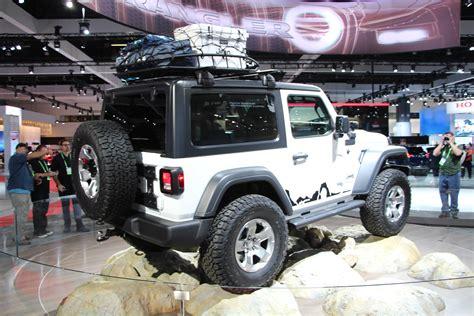 jeep wrangler yj mopar shows a ton of new 2018 wrangler jl accessories road