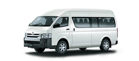 toyota hiace van powerful economical  trustworthy