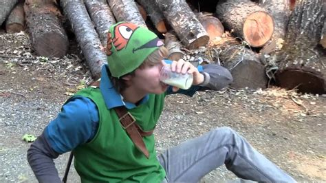 Legend Of Zelda Ocarina Of Time In Real Life Youtube
