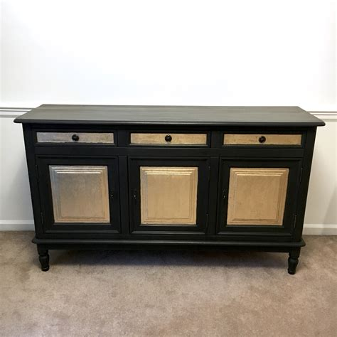 gold credenza black and gold cabinet buffet credenza
