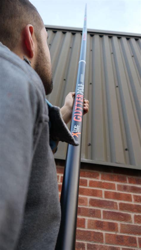 xline  gutter vac ft carbon poles hd camera package
