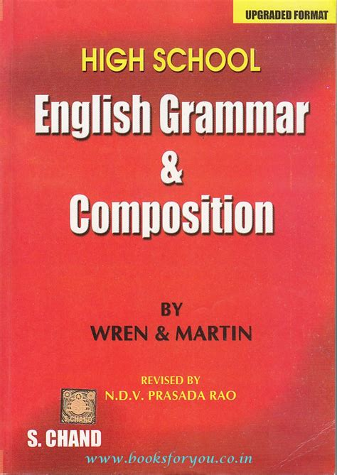 High School English Grammar & Composition (upgraded)  Books For You