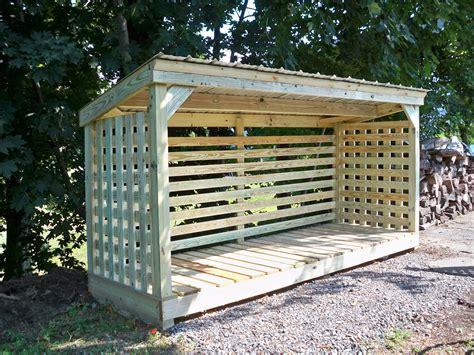firewood storage shed oscawana sheds glenn s sheds