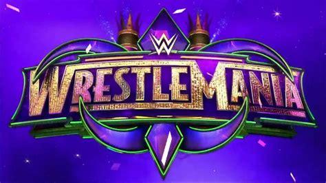 WrestleMania 34 logo   Wrestlemania, Wwe ppv, Wwe