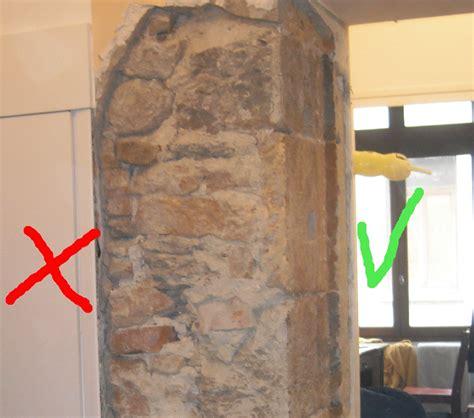 decaper un mur exterieur peint d 233 caper un mur ancien en couvert d enduit ciment et pl 226 tre
