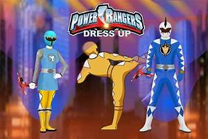 Power Rangers Dress Up Game Power Rangers Games Games Loon