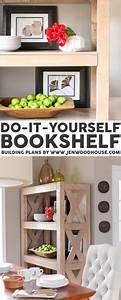 Diy, Bookshelf, With, Simpson, Strong