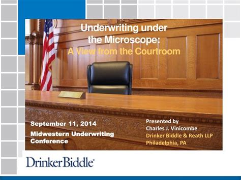We did not find results for: PPT - Underwriting under the Microscope: A View from the Courtroom PowerPoint Presentation - ID ...