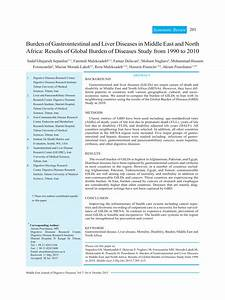 (PDF) Burden of Gastrointestinal and Liver Diseases in ...