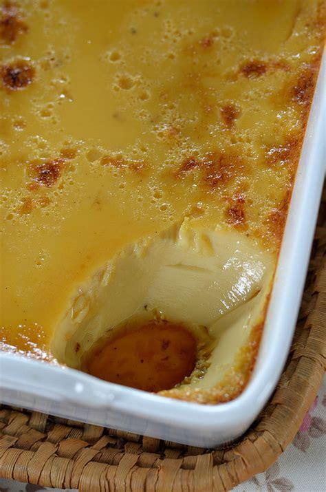 oeufs au lait sauce caramel recette tangerine zest
