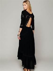 free people mexican wedding dress in black lyst With free people mexican wedding dress