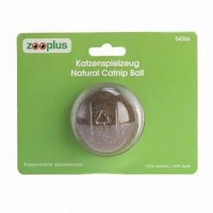 Balle Pour Chat : balle natural catnip jouet pour chat zooplus ~ Teatrodelosmanantiales.com Idées de Décoration