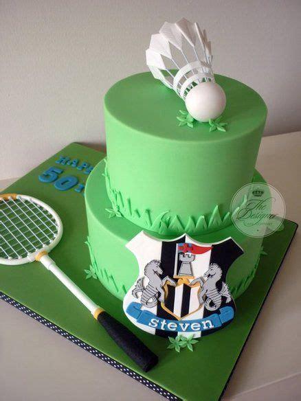 badminton cake ideas images  pinterest cake
