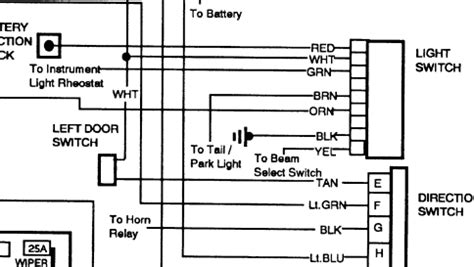 Need Headlight Switch Wiring Diagram For