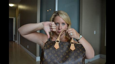 negative louis vuitton speedy  review youtube