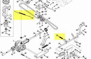 Cub Cadet Ltx 1050 Deck Belt Diagram