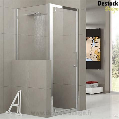 paroi de douche d angle sur mesure pour tete de mur novellini