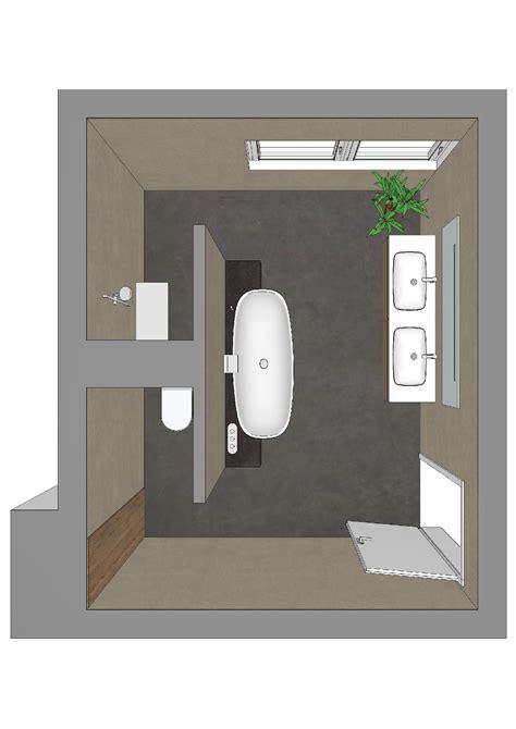 Badezimmer T Form by Badezimmerplanung Mit T L 246 Sung Badarchitektur Gut