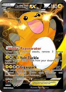 mega raichu pokemon card ex