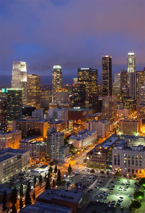 Downtown Los Angeles Wallpaper For Iphone X 8 7 6