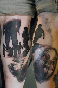 Zombie Tattoos Designs  Ideas And Meaning