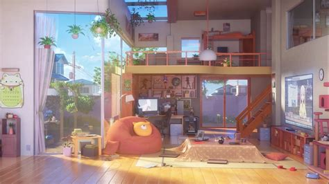 Inside The House Anime Wallpapers - Wallpaper Cave