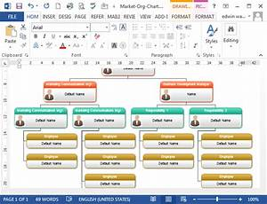 To Create Organizational Chart In Ms Word  Programs